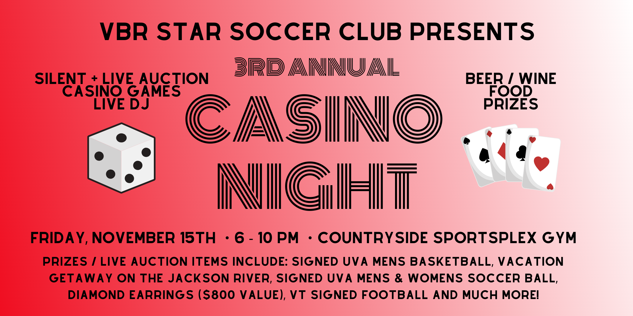 VBR Star Casino Night